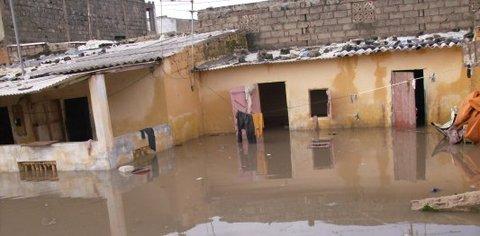Dégâts inondation Afrique de l'ouest
